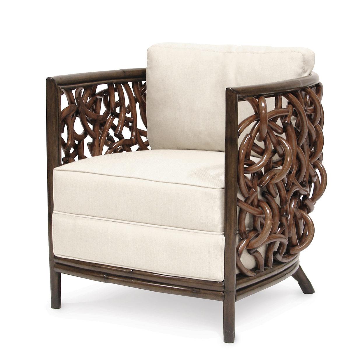 Superbe Palecek Auburn Lounge Chair